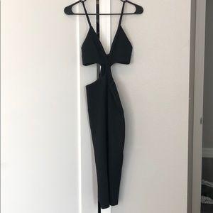 NBD cut out dress